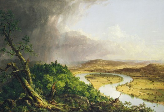 "Thomas Cole – ""The Oxbow"" (1836)"