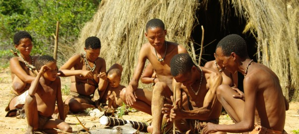 Bushmen-hut