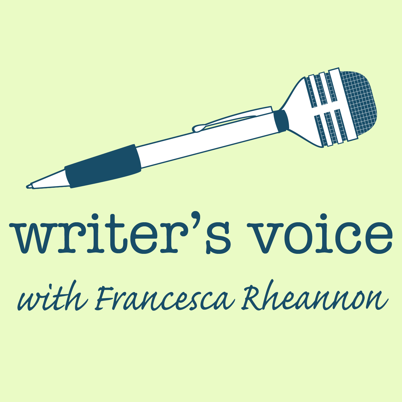 Writer's Voice with Francesca Rheannon