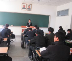 Kim teaching